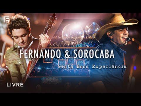Fernando & Sorocaba - Livre   DVD Sinta Essa Experiência