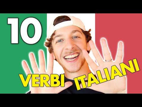 10 Verbi Che Devi Sapere in Italiano (Sub ITA)   Imparare l'Italiano