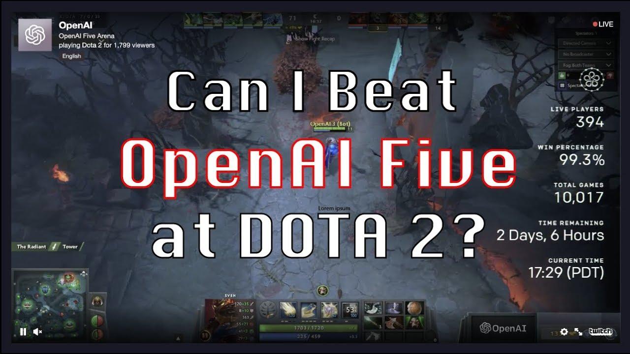 Can I Beat OpenAI Five in DOTA 2?