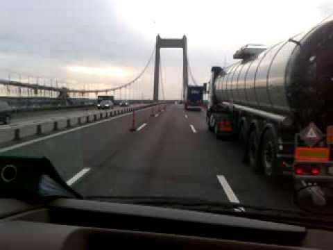 The Little Belt Bridge, Denmark