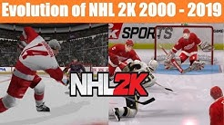 History/Evolution of NHL 2K (2000-2019)