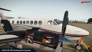 Airfoillabs KING AIR 350 Development Progress