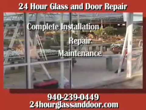 24 Hour Glass And Door Repair Denton, TX