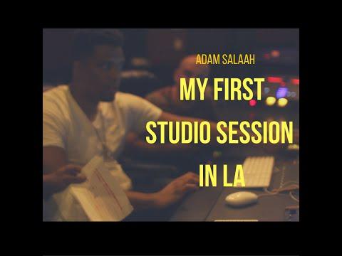 My First Studio Session In LA (Major Pop Artist)