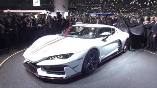 Italdesign Zerouno from 2017 GIMS is headed for a limited production