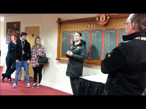 140318 Tour of Old Trafford Stadium