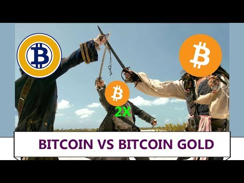 🏆 BITCOIN(Core) VS BITCOIN GOLD(BTG) VS BITCOIN (Segwit2x) ⚔️