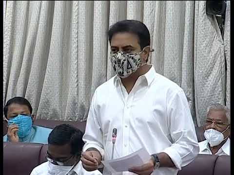 Minister KTR replied to a question on 'Registration of Balanagar Industrial Lands'