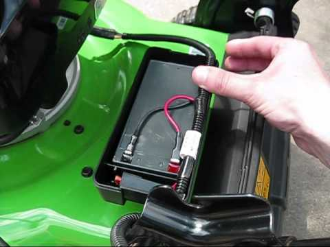 How To Replace The Battery On A Lawnboy Toro Lawnmower