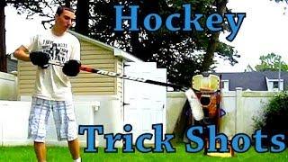 Crazy Hockey Trick Shots Ep. 3   Lefty Hockey Reviews