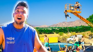 We Built An Incredibly Dangerous Water Park!