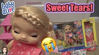 Baby Alive Sweet Tears Baby Unboxing + GIVEAWAY! | Kelli Maple