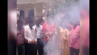 Presidential Election 2017: Celebrations begin outside Kovind's house in Kanpur Dehat