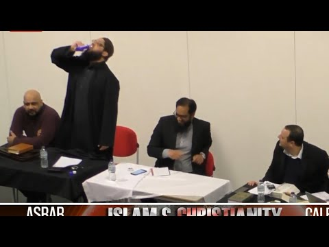 Shaykh Asrar Rashid Accepts Christian Challenge Drinks Poison At Debate In Manchester University.
