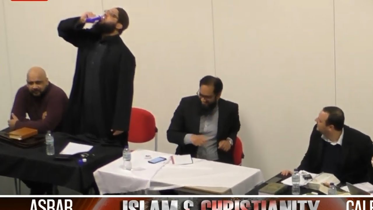 Download Shaykh Asrar Rashid Accepts christian challenge drinks Poison at Debate in Manchester university.