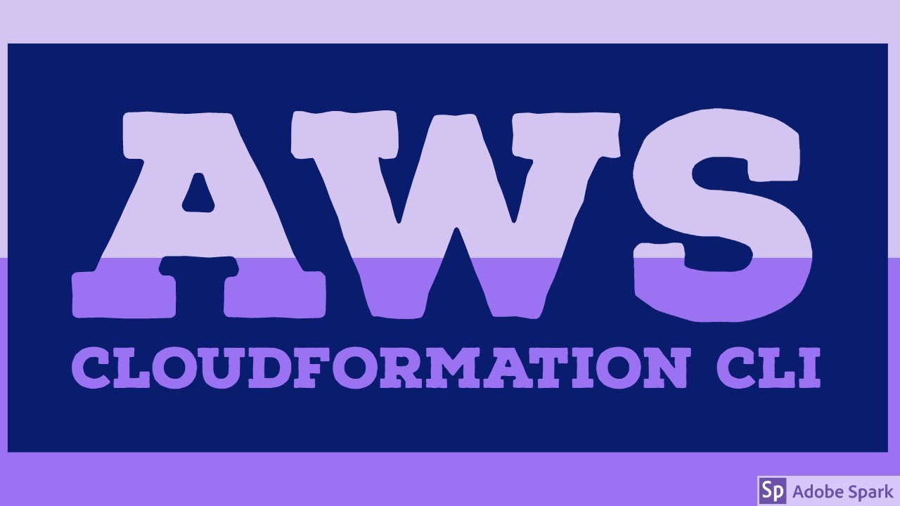 AWS CloudFormation using CLI