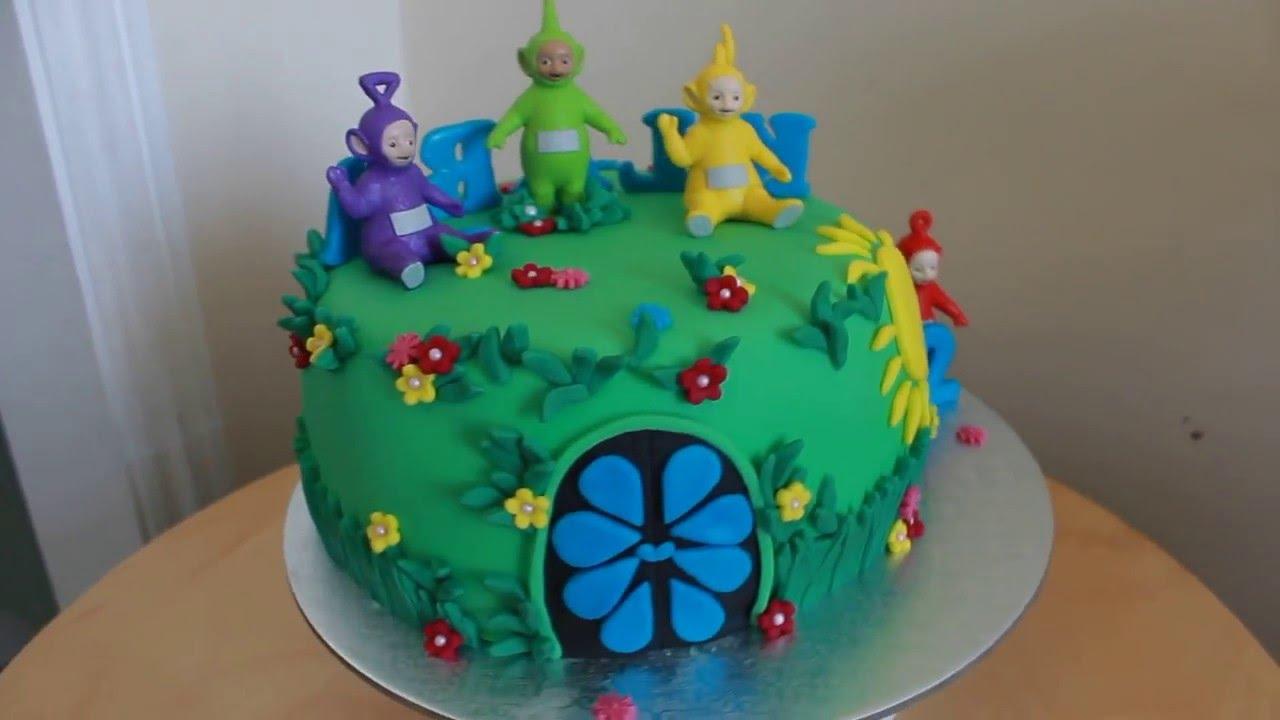 Teletubbies Cake Tort Z Teletubisiami Youtube