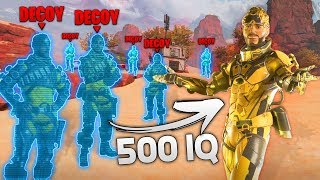 HOW TO MAKE MIRAGE BE INSANELY OP! - NEW Apex Legends Funny & Epic Moments #135