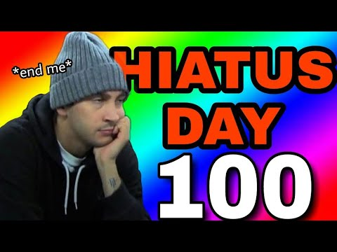 HIATUS DAY 100 + Tyler MADE HIS 1st MUSICAL.LY😱