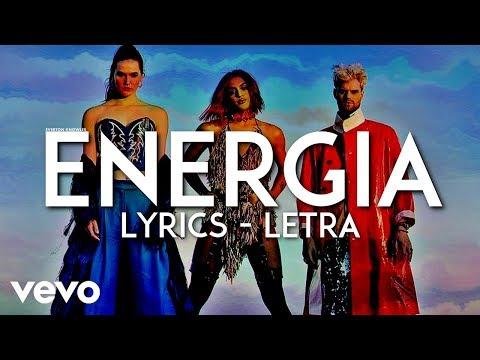 Sofi Tukker & Pabllo Vittar - Energia (Lyrics - Letra)