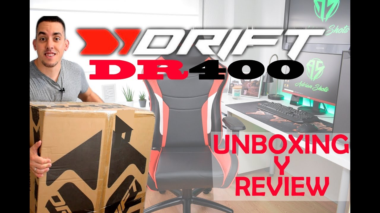 Y EspañolSilla Gaming Unboxing Drift Dr400 Review En IYg7bfyv6