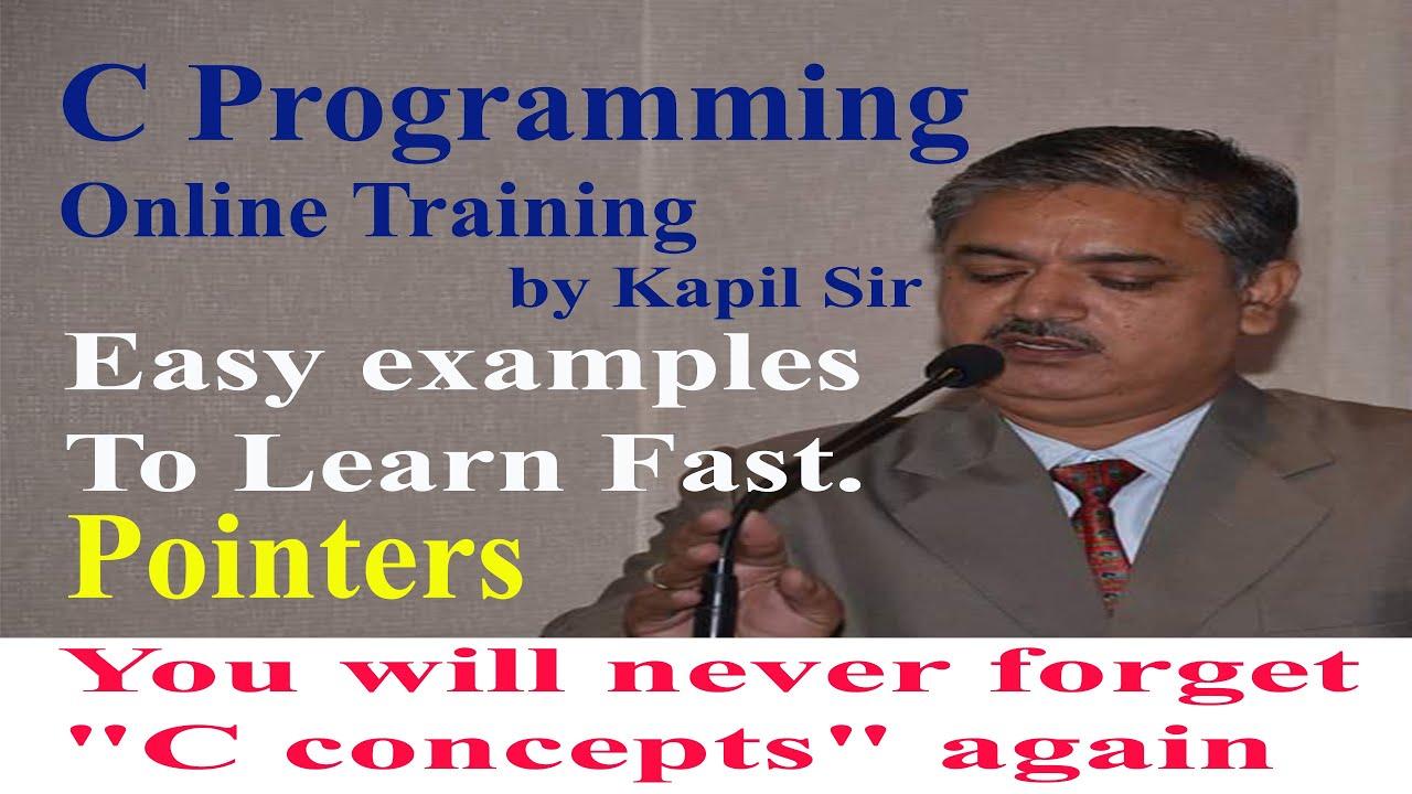 Pointers in C programming   Kapil Dev Sharma
