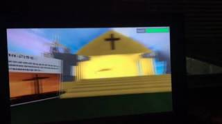 Heaven and Jesus Christ Church in roblox