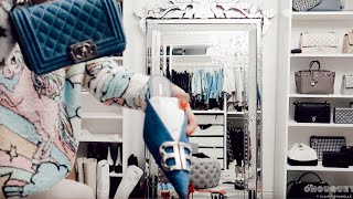 ORGANISING MY WALK IN CLOSET | THE WORST MYSELF/MY CLOSET HAVE EVER LOOKED! NEW PLANS & NEW SHOES