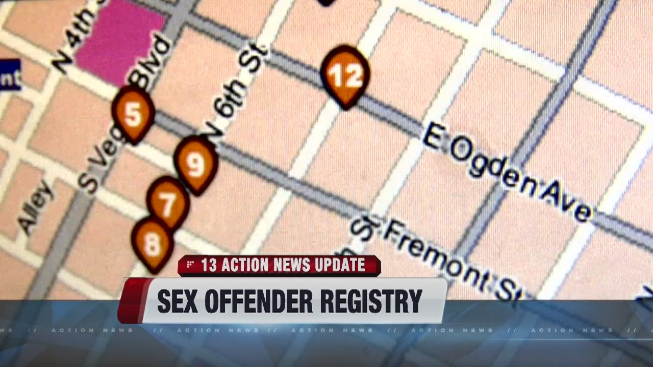 Nevada sexual offender registry