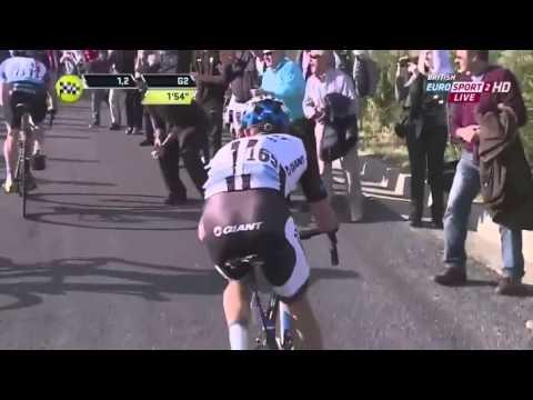Alberto Contador wins stage 5 of Tirreno-Adriatico highlights (March 16 2014) HD