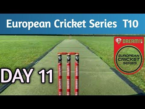 European Cricket Series Barcelona Day 11 | Cricket T10 Live