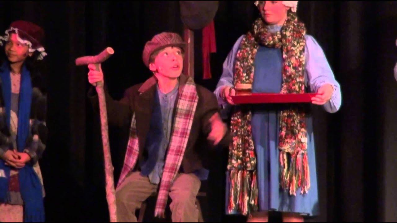 Johnny DiGiorgio as Tiny Tim Singing God Bless Us Everyone in A Christmas Carol - YouTube