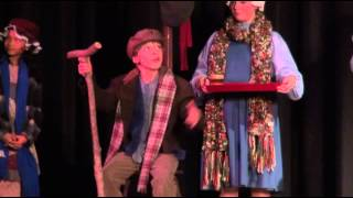 Johnny DiGiorgio as Tiny Tim Singing God Bless Us Everyone in A Christmas Carol