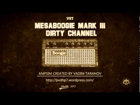 MesaBoogie Mark III -- free virtual high gain amp