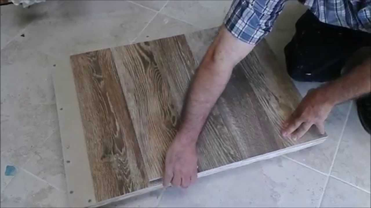 Kitchen Sink Cabinet Bottom Wood Floor Replacement With Tile Floor After  Water Damage Part 2   YouTube