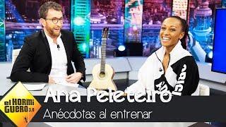 La anécdota de Ana Peleteiro con su compañero de entrenamiento - El Hormiguero 3.0