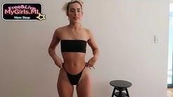 Super  Webcam Model Chatting With Men