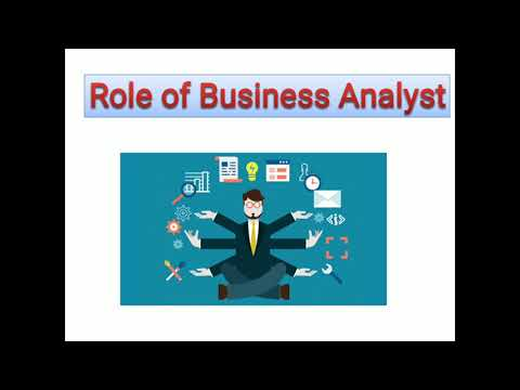 Role Of Business Analyst In IT Company