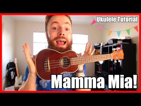 Mamma Mia - ABBA (Easy Ukulele Tutorial)
