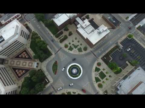 Drone - Downtown Belleville IL - Summer 2016