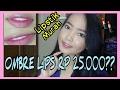 Bikin Ombre Lips Pake Lipstik Murah Meriah RP 25.000 | Bibir fresh+seger| VinaMaysha