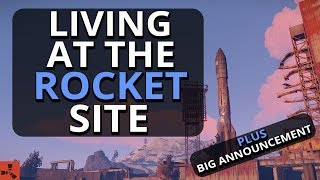 Video Living At The NEW Rocket Launch Site!! And BIG Announcement!! - Rust Survival download MP3, 3GP, MP4, WEBM, AVI, FLV Desember 2017
