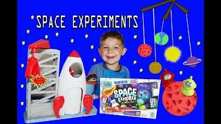 WEIRD SCIENCE SPACE EXPLORER KIT Fun Experiments with CLAY'S PLAY