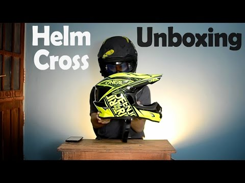 Unboxing Helm Cross | Oneal | Indonesia #33 MotoVlog