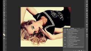 PhotoShop: Эффект Pin-up