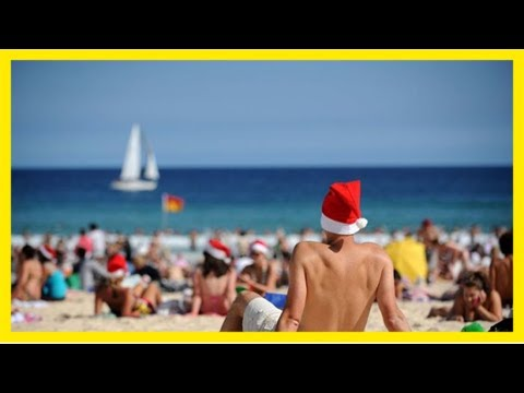 Perth's christmas day forecast fine and sunny after freak 'winter' storm