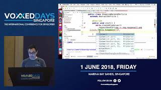 Reactive Systems with Eclipse Vert.x and Kubernetes - Voxxed Days Singapore 2018