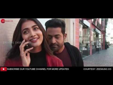 ANAGANAGANAGA HD video song from Aravinda sametha jr Trivikram Thamman (Edited version)