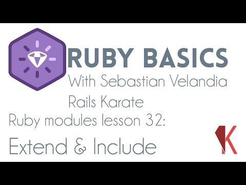 Ruby modules - Extend and Include