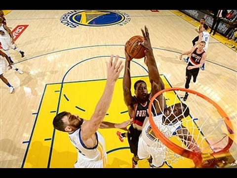 Golden State's Defense Leads to Game 1 Win Over Portland